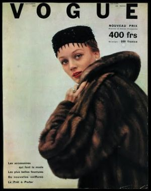 Vintage Vogue magazine covers - mylusciouslife.com - vogue paris_cover.jpg