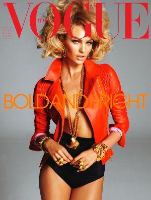 Vogue magazine covers - mylusciouslife.com - CandiceSwanepoelVogueItaliaFebruary2011Cover.jpg