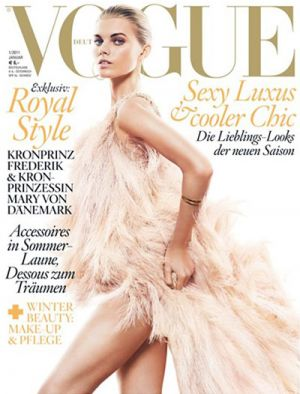 Vogue magazine covers - mylusciouslife.com - Maryna-Linchuk-for-Vogue-Germany-January-2011.jpg