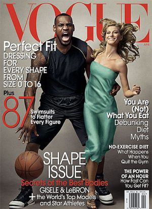 Vogue magazine covers - wah4mi0ae4yauslife.com - Vogue April 2008 - Gisele Bundchen and LeBron James.jpg