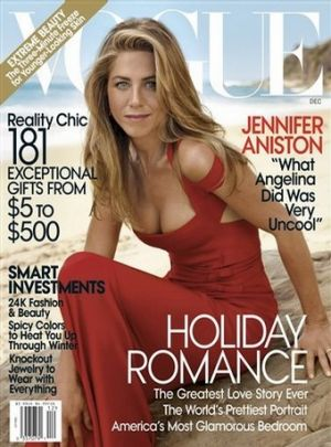 Vogue magazine covers - mylusciouslife.com - Jennifer Aniston
