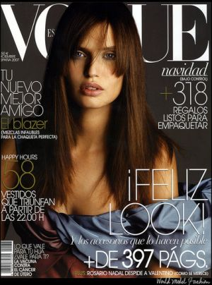 Vogue magazine covers - wah4mi0ae4yauslife.com - Vogue Espana December 2007 - Bianca Balti.jpg