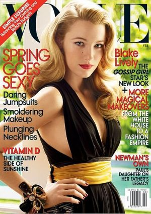 Vogue magazine covers - mylusciouslife.com - Vogue February 2009 - Blake Lively.jpg