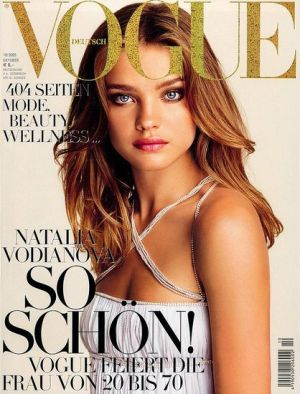 Vogue magazine covers - wah4mi0ae4yauslife.com - Vogue Germany October 2005 - Natalia V.jpg