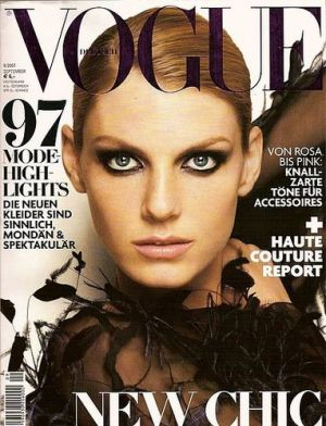 Vogue magazine covers - mylusciouslife.com - Vogue Germany September 2007.jpg
