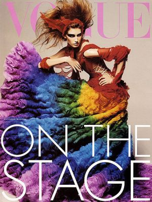 Vogue magazine covers - mylusciouslife.com - Vogue Italia February 2003 - Eugenia Volodina.jpg