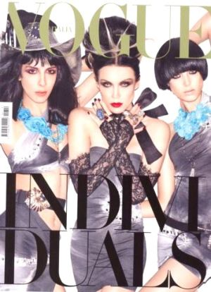 Vogue magazine covers - mylusciouslife.com - Vogue Italia February 2010.jpg
