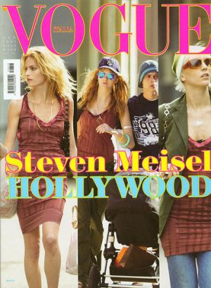 Vogue magazine covers - mylusciouslife.com - Vogue Italia January 2005 - Caroline Trentini.jpg