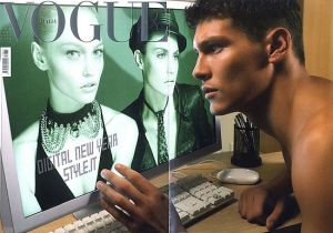 Vogue magazine covers - mylusciouslife.com - Vogue Italia January 2007.jpg
