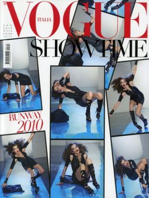 Vogue magazine covers - mylusciouslife.com - Vogue Italia January 2010.jpg