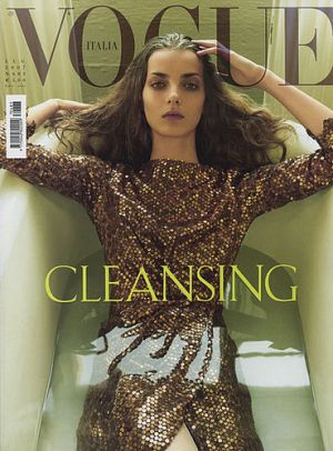 Vogue magazine covers - mylusciouslife.com - Vogue Italia July 2007.jpg