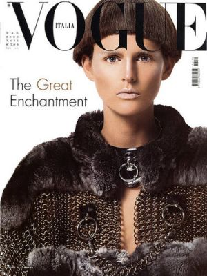 Vogue magazine covers - mylusciouslife.com - Vogue Italia March 2003 - Stella Tennant.jpg