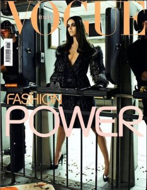 Vogue magazine covers - mylusciouslife.com - Vogue Italia September 2006 - Hilary Rhoda.jpg