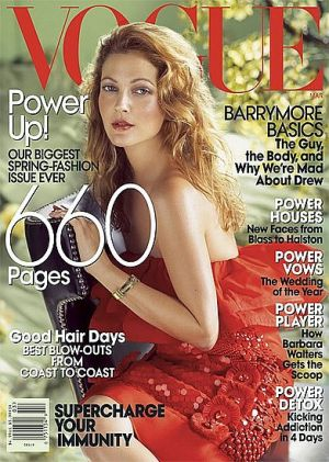Vogue magazine covers - mylusciouslife.com - Vogue March 2008 - Drew Barrymore.jpg
