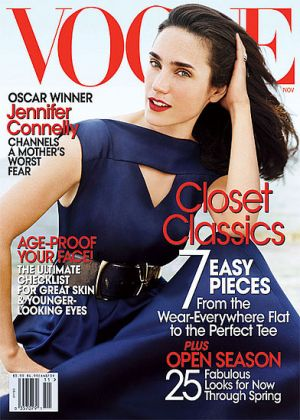 Vogue magazine covers - mylusciouslife.com - Vogue November 2007 - Jennifer Connelly.jpg