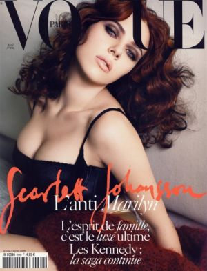 Vogue magazine covers - mylusciouslife.com - Vogue Paris April 2009 - Scarlett Johansson.jpg