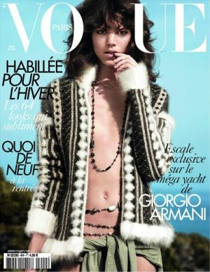 Vogue magazine covers - mylusciouslife.com - Vogue Paris August 2010.jpg