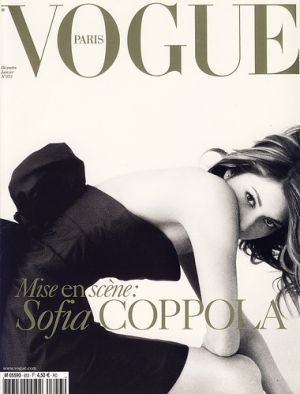 Vogue magazine covers - mylusciouslife.com - Vogue Paris December 2004 January 2005 - Sofia_Coppola.jpg
