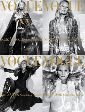 Vogue magazine covers - mylusciouslife.com - Vogue Paris December 2005 - Kate Moss.jpg