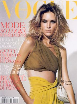 Vogue magazine covers - mylusciouslife.com - Vogue Paris February 2004 - Erin Wasson.jpg