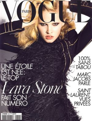 Vogue Paris February 2009 - Lara Stone.jpg