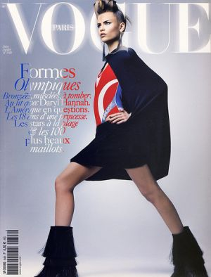 Vogue magazine covers - wah4mi0ae4yauslife.com - Vogue Paris June July 2004 - Natasha Poly.jpg