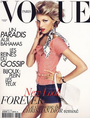Vogue magazine covers - mylusciouslife.com - Vogue Paris June July 2009 - Anja Rubik.jpg