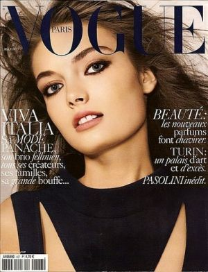 Vogue magazine covers - mylusciouslife.com - Vogue Paris May 2006.jpg