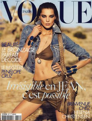 Vogue magazine covers - mylusciouslife.com - Vogue Paris May 2009 - Daria Werbowy.jpg