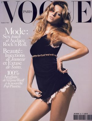 Vogue magazine covers - mylusciouslife.com - Vogue Paris October 2004 - Gisele Bundchen.jpg