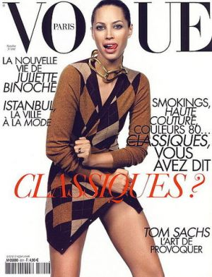 Vogue magazine covers - wah4mi0ae4yauslife.com - Vogue Paris October 2008 - Christy Turlington.jpg