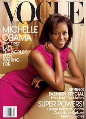 Michelle Obama - Vogue magazine covers - mylusciouslife.com