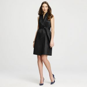 Anne Klein Wrap Dress - black.jpg