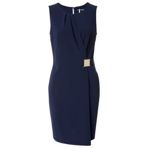 Blue Betty Barclay Wrap Dress.jpg