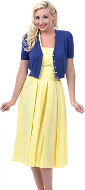 Blue Dainty Pointelle Short Sleeve Cardigan.jpg