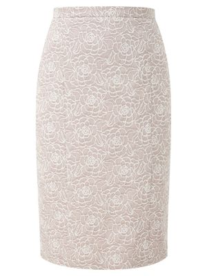 CC Jacquard Pencil Skirt Biscuit.jpg