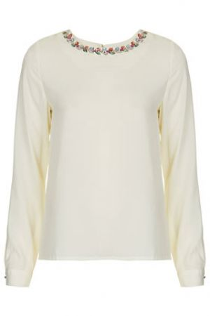 Crystal Neck Blouse by Sister Jane - Topshop.jpg