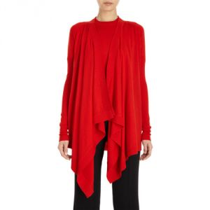 Givenchy Drape Front Cardigan - Red.jpg
