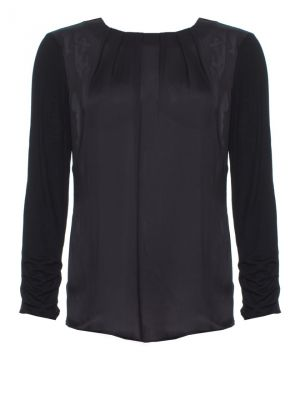 Gravitate Pleat Blouse black.jpg