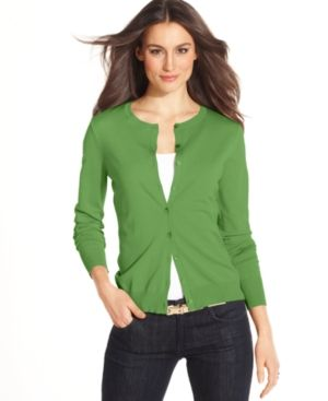 Green August Silk Sweater Long-Sleeve Silk-Blend Cardigan.jpg