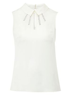 Hobbs Ladder Blouse Ivory.jpg