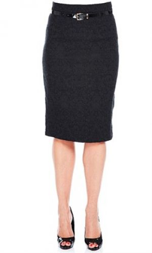 JACQUARD PENCIL SKIRT skinny belt.jpg