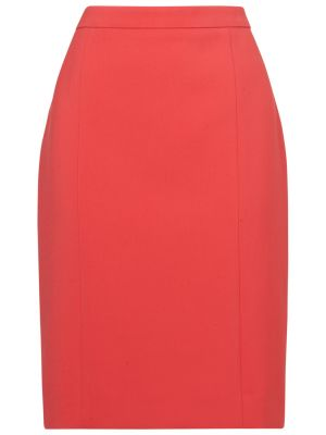 Jaeger Panelled Pencil Skirt Pink coral.jpg