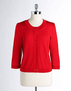 Jones New York Three-Quarter Sleeved Cardigan.jpg