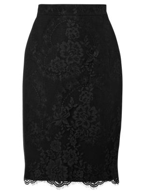 L.K. Bennett Essie Lace Pencil Skirt Black.jpg