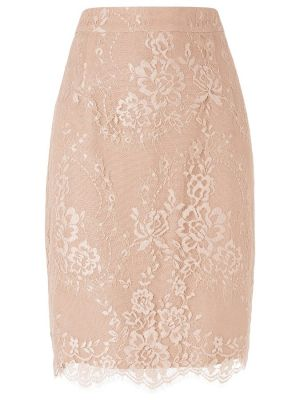 L.K. Bennett Essie Lace Pencil Skirt Powder.jpg