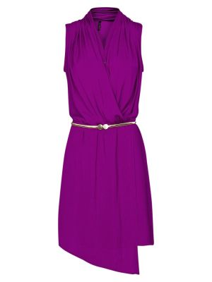Mango Asymmetric Wrap Dress Purple - John Lewis.jpg