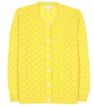 Marc Jacobs CASHMERE CARDIGAN yellow.jpg