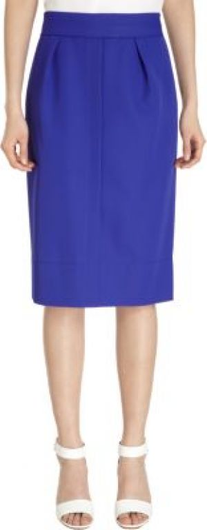 Marc Jacobs Pencil Skirt-Blue.jpg