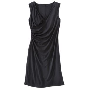 Merona Womens Slimming Options V-Neck Wrap Dress - Black.jpg